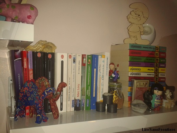 Bookselfie avec l'homme invisible.